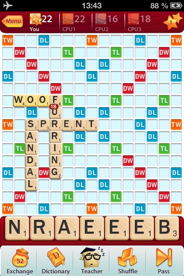 Scrabble | Sylvain Billaud